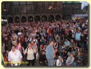 Publikum beim Stadtfest