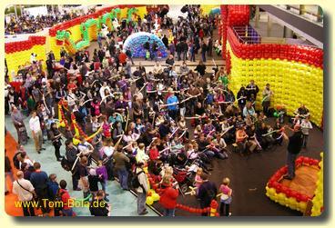 Ballonworkshop auf der Süddeutschen Spielemesse in Stuttgart